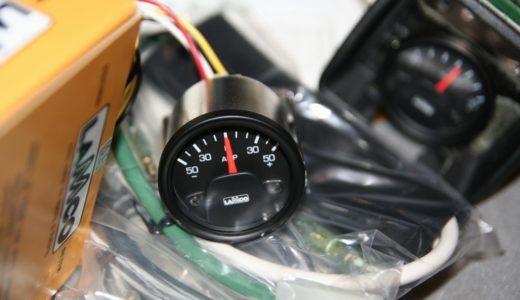 ラムコ製追加メーター(40φ)「アンメーター」の電源5ピンコネクタ